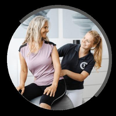 Beckenbodentherapie bei NOVOTERGUM Physiotherapie