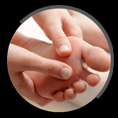 Fußreflexzonenmassage bei NOVOTERUGM Physiotherapie