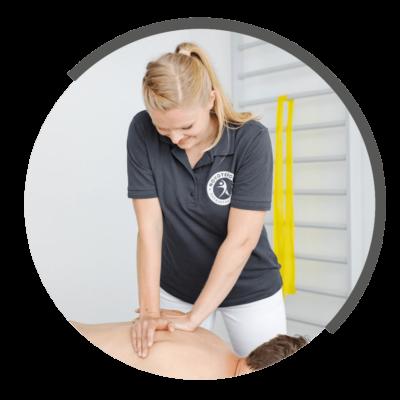 Massagetherapie bei NOVOTERGUM Physiotherapie