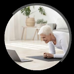 online Heimtraining von NOVOTERGUM Physiotherapie