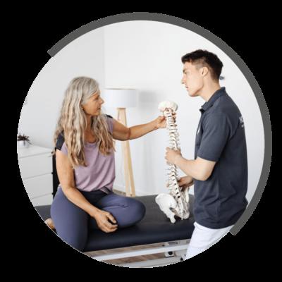 Spiraldynamik bei NOVOTERGUM Physiotherapie