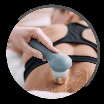 Ultraschalltherapie bei NOVOTERGUM Physiotherapie