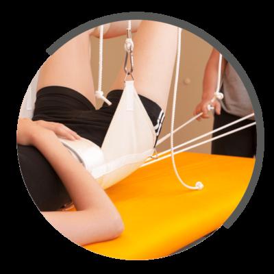 Extensionsbehandlung bei NOVOTERGUM Physiotherapie
