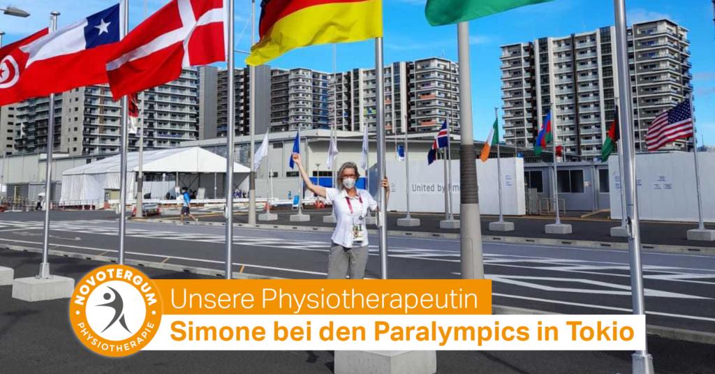 Simone bei den Paralympics